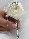 """Flori de Nuntă Butoniere Nuntă Evenimente/Petrecere Satin 2.76""""(Approx.7cm)"""
