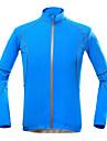 KORAMAN Homme Veste de Cyclisme Velo Hauts / Top Sechage rapide, Resistant aux ultraviolets, Respirable Vacances, Classique, Lune de miel
