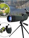 25-75x70 vattentät zoom monokulärt bak4 spotting räckvidd med stativfodralhållare fågelskådning