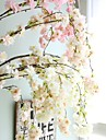 Kunstbloemen 1 Tak Bruiloft Europese Stijl Sakura Bloemen voor op de muur