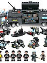 BEIQI Building Blocks Military Blocks Construction Set Toys 647 pcs Vehicles Military Soldier compatible Legoing Stress and Anxiety Relief Parent-Child Interaction Classic Military Vehicle Police car