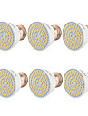 YWXLIGHT® 6pcs 5W 400-500 lm GU10 MR16 E26/E27 LED-spotlights 54 lysdioder SMD 2835 Varmvit Kallvit Naturlig vit 110-130V 220V-240V