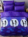 Seturi Duvet Cover Desene Animate 3 Piese Poli/Bumbac 100% bumbac Imprimeu reactiv Poli/Bumbac 100% bumbac 1pc Plapumă Duvet 1pc Sham 1pc