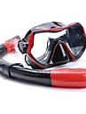 YON SUB Snorklepakker Dykning Pakker - Dykning Maske snorkel - Anti-Tåge Dry top Justérbar strop Svømning Dykning Silikone Gummi  Til Voksen