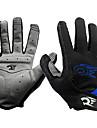WEST BIKING® Aktivitet/Sport Handskar Cykelhandskar Håller värmen Vattentät Vindtät Andningsfunktion Anti-sladd Skyddande Helt finger
