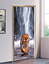 Peisaj Animale Perete Postituri Autocolante perete plane 3D Acțibilduri de Perete Autocolante de Perete Decorative Etichete pentru