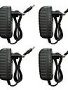 BRELONG® 4pcs Eluttag Strömadapter Strömförsörjning Plast Bulb Accessory