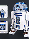 R2-D2 Building Blocks Construction Set Toys Educational Toy 2127 pcs Classic Theme Robot compatible Legoing Stress and Anxiety Relief Focus Toy Boys\' Girls\' Toy Gift