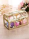 Cube Rășină plastic Favor Holder cu Carouri Cutii de Savoare