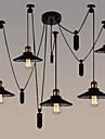 5-Light grup Candelabre Lumini Ambientale - Stil Minimalist, Ajustabil, 110-120V / 220-240V Becul nu este inclus / 5-10㎡ / FCC
