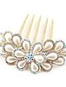 Imitație de Perle Aliaj Îmbrăcăminte de păr with Imitație de Perle 1 buc Nuntă Casual Diadema