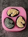 Instrumente de coacere Silicon Nuntă / Desene 3D / Creative Tort / Ciocolatiu / Pentru ustensile de gătit Materiale pentru torturi 1 buc