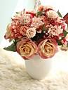 Kunstbloemen 8.0 Tak Rustiek Bruiloft Rozen Eeuwige bloemen Bloemen voor op tafel