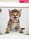 Autocolante de Frigider Autocolante toaletă - Animal Stickers de perete Animale #D Sufragerie Dormitor Baie Bucătărie Cameră de studiu /