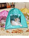 Câini / Pisici Animale de Companie  Pentru Linii Buline Pliabil / Cort / Ușor de Instalat Galben / Verde / Roz Pentru animale de companie