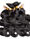 6 Buendel Indisches Haar Wellen 8A Unbearbeitet Echthaar Menschenhaar spinnt Echthaar Haarverlaengerungen Naturfarbe Menschliches Haar Webarten Neuankoemmling Fuer Damen dunkler Hautfarbe