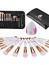 Professionel Make-up pensler Brush Sets 16pcs -ko Venlig Blød Plastik til
