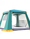 4 איש Automatic Tent חיצוני שמור על חום הגוף עמיד לאבק שכבה כפולה אוטומטי אוהל בקתה קמפינג אוהל ל מחנאות וטיולים אחר חומר