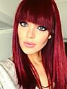 Парики из искусственных волос Волнистый Красный Стрижка боб Черный / Красный Искусственные волосы Жен. Для вечеринок / Классический / синтетический Красный / Омбре Парик Средняя длина / Да