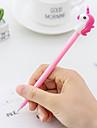 ジェルペン ペン ペン, プラスチック ブラック インク色 用途 学用品 事務用品 のパック 12 pcs