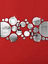 מדבקות קיר דקורטיביות - מדבקות קיר מראות צורות סלון / חדר שינה / מקלחת