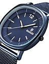 Erkek Spor Saat Bilek Saati Japonca Quartz Paslanmaz Çelik Siyah / Mavi / Gri Gündelik Saatler Havalı Analog Lüks Moda - Gül Altın Siyah / Gri Siyah / Gül Altın