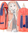 Inspired by Kakegurui Cookie Anime Anime Cosplay Costumes Cosplay Hoodies Anime / Letter & Number Long Sleeve Coat For Women\'s
