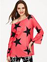 Baathals T-skjorte Dame - Geometrisk
