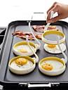 Nailon Mold DIY DIY Tools Cea mai buna calitate Bucătărie Gadget creativ Reparații Instrumente pentru ustensile de bucătărie pentru ou 2pcs