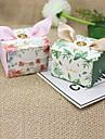 Cubi Carta Porta-bomboniera con Nastri Bomboniere scatole - 12pcs