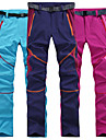 Women\'s Hiking Pants Outdoor Lightweight UV Resistant Fast Dry Bottoms Hiking Camping Pink Grey Burgundy L XL XXL / Stretchy / Quick Dry / Quick Dry