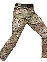 Férfi álcázás Planinarske hlače Külső Vízálló Gyors szárítás Lélegzési képesség Tél Nadrágok Alsók Vadászat Túrázás Mászás Terepszínű Durva fekete Khakizöld XXXL 4XL 5 XL / Mikroelasztikus
