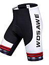 WOSAWE Women\'s Unisex Cycling Padded Shorts Bike Shorts Padded Shorts / Chamois Bottoms Breathable 3D Pad Quick Dry Sports Polyester Spandex Silicon Black Mountain Bike MTB Road Bike Cycling Clothing