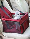 Kat Hond Hoes Voor Autostoel Huisdieren Dragers waterdicht draagbaar Ademend Effen Rood Blauw Roze