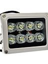 lampe illuminateur infrarouge usine oem aj-bg8080 pour systemes de securite 11.3 * 8.5 * 9.6 cm 0.75 kg