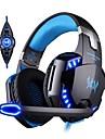 KOTION EACH G2200 عقال سلكي Headphones سماعة PP+ABS الألعاب سماعة مع ميكريفون / مع التحكم في مستوى الصوت سماعة