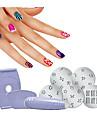 1set Nail Art Drill Kit Bedste kvalitet Blomster Serier Negle kunst Manicure Pedicure Miljøvenligt materiale Trendy / Mode Daglig