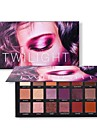 18 Colors Eyeshadow Palette EyeShadow lasting Daily Makeup / Halloween Makeup / Party Makeup 1160 Cosmetic / Matte / Shimmer