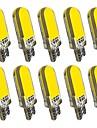 10 szt. T10 Samochód Żarówki 2 W COB 60 lm 12 LED Włącz sygnał świetlny Na General Motors Univerzál