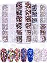 2080 pcs Многофункциональный / Лучшее качество Стразы Кристаллы Назначение Креатив маникюр Маникюр педикюр Повседневные модный
