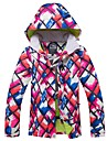 RIVIYELE Femme Veste de Ski Coupe Vent Chaud Respirabilite Sports d\'hiver Coton Polyester Hauts / Top Tenue de Ski / Hiver