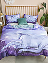 Duvet Cover Sets Cartoon Polyster Printed 3 PieceBedding Sets