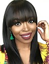 Dolago Lace Front Human Hair Wigs with Bangs 150% Density Straight 360 Lace Wigs for Black Women Cheap Bob Wig