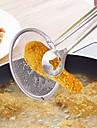 filtru multifuncțional lingură cu clip alimentare bucătărie ulei-prăjire bbq filtru de sârmă din oțel inoxidabil clemă