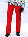 High Experience Homme Pantalons de Ski Etanche Chaud Coupe Vent Ski Snowboard Sports d\'hiver Polyester Terylene Tissu de soie Salopettes Tenue de Ski / Hiver