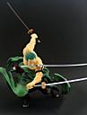 Las figuras de accion del anime Inspirado por One Piece Roronoa Zoro CLORURO DE POLIVINILO 20 cm CM Juegos de construccion muneca de juguete