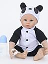 FeelWind Munecas reborn Bebes Ninos 22 pulgada Silicona Vinilo - natural Hecho a Mano Bonito Segura para Ninos Ninos / Adolescentes Non Toxic Kid de Unisex Juguet Regalo