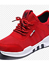 نسائي تيساج فولانت ربيع & الصيف أحذية رياضية الركض كعب خفي أبيض / أسود / أحمر
