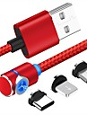 90 graus cabo usb magnetica para iphone x xr xs max 8 7 6 5 magneto micro usb tipo c cabo para samsung xiaomi huawei