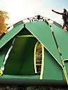 Sheng yuan 4 شخص خيمة التخييم العائلية في الهواء الطلق ضد الهواء مكتشف الأمطار التنفس إمكانية طبقات مزدوجة أوتوماتيكي خيمة التخييم >3000 mm إلى Camping / Hiking / Caving قماش اكسفورد 213*215*135 cm